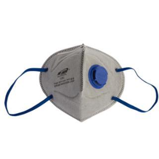 带阀折叠式有机蒸气异味及颗粒物防护口罩